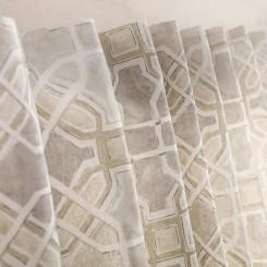 Κουρτίνα με σιρίτι 140Χ260cm  Liceo  942