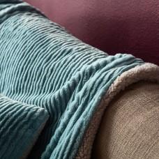 Σιελ Κουβερτάκι με γούνα  130X170cm Softy 478